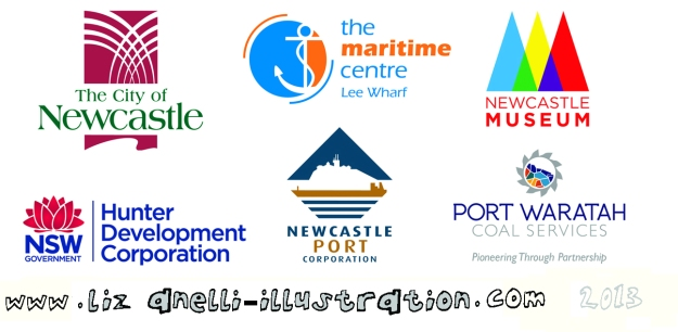 Newcastle City Council, The Maritime Centre, Newcastle Museum, Port Waratah Coal Services, Newcastle Port Corporation , Hunter Development Corporation