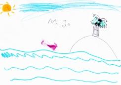 Maiya swimming
