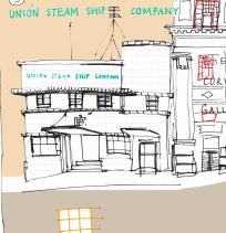 Steam Ship company building Watt St